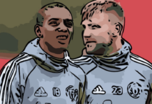 Luke Shaw Ashley Young Manchester United Tactical Analysis Analysis