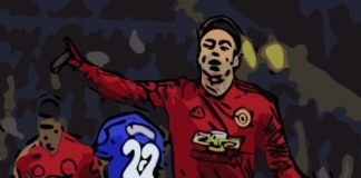 Manchester United Jesse Lingard Cardiff City Player Analysis